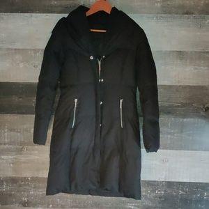 Michael Kors black puffer winter coat